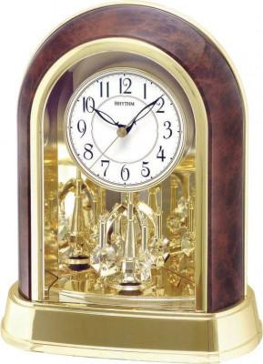 Rhythm asztali-kandalló óra, 4SG696WT23, Kvarc