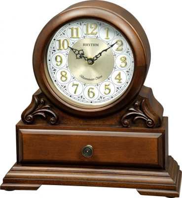 Rhythm asztali-kandalló óra, CRH261NR06, Kvarc