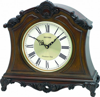 Rhythm asztali-kandalló óra, CRH170NR06, Kvarc