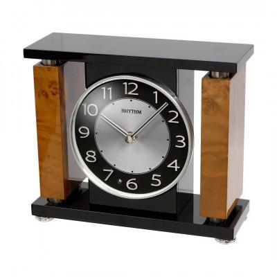 Rhythm asztali-kandalló óra, CRH218NR02, Kvarc