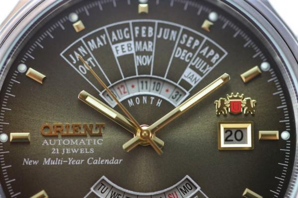 Orient Multi Year Calendar férfi karóra, FEU00002TW, Klasszikus, Automata, Nemesacél