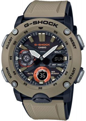 Casio G-Shock G-Classic férfi karóra, GA-2000-5AER, Sportos, Ana-digi, Szilikon