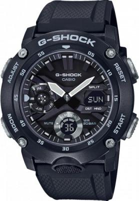 Casio G-Shock G-Classic férfi karóra, GA-2000S-1AER, Sportos, Ana-digi, Szilikon