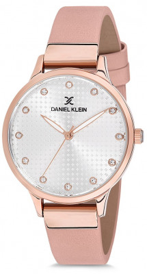 Daniel Klein Premium női karóra, DK12039-3, Divatos, Kvarc, Bőr
