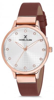 Daniel Klein Premium női karóra, DK12039-4, Divatos, Kvarc, Bőr