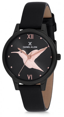 Daniel Klein Trendy női karóra, DK12045-5, Divatos, Kvarc, Bőr