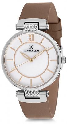 Daniel Klein Premium női karóra, DK12079-7, Divatos, Kvarc, Bőr