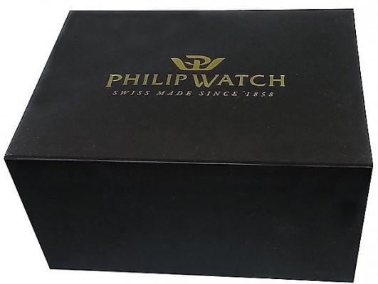 Philip Watch Caribe férfi karóra, R8223597012, Divatos, Automata, Nemesacél