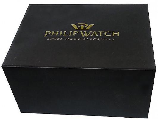 Philip Watch Caribe férfi karóra, R8253597046, Sportos, Kvarc, Nemesacél