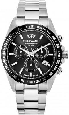 Philip Watch Caribe férfi karóra, R8273607002, Sportos, Kvarc, Nemesacél