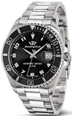 Philip Watch Caribe férfi karóra, R8253597008, Sportos, Kvarc, Nemesacél
