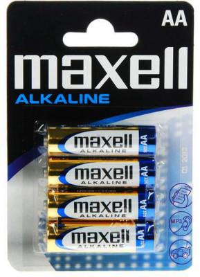 Maxell alkáli AA ceruzaelem 4db, 18730