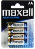 Maxell alkáli AA ceruzaelem 4db