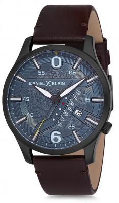 Daniel Klein Premium férfi karóra, DK12116-6, Divatos, Kvarc, Bőr