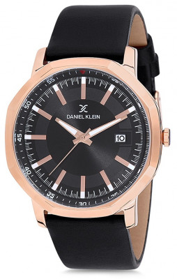 Daniel Klein Premium férfi karóra, DK12140-4, Divatos, Kvarc, Bőr