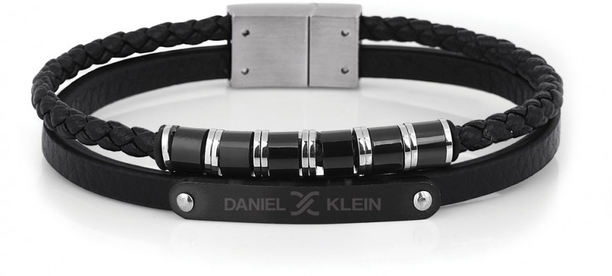 Daniel Klein férfi karkötő, DKB.6.2014.01