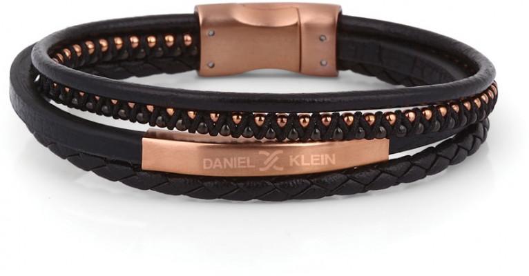 Daniel Klein férfi karkötő, DKB.6.2021.03