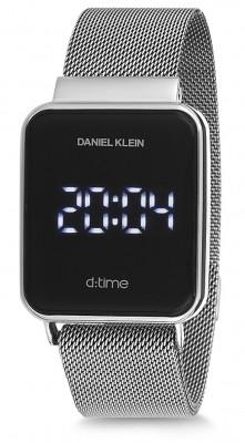 Daniel Klein D:Time unisex karóra, DK12098-1, Sportos, Digitális, Nemesacél