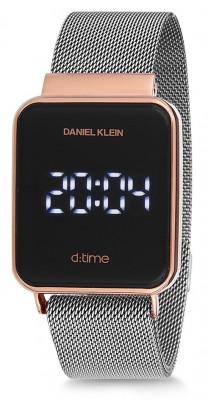 Daniel Klein D:Time unisex karóra, DK12098-2, Sportos, Digitális, Nemesacél