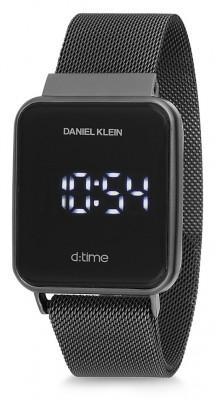 Daniel Klein D:Time unisex karóra, DK12098-4, Sportos, Digitális, Nemesacél
