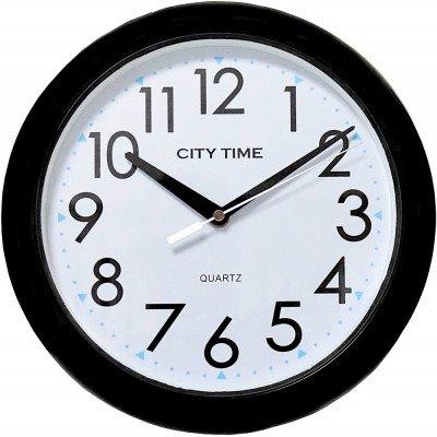 City Time páraálló falióra, WC28008-B, Kvarc