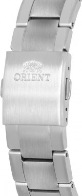 Orient Contemporary Chronograph férfi karóra, RA-KV0301L10B, Elegáns, Kvarc, Nemesacél