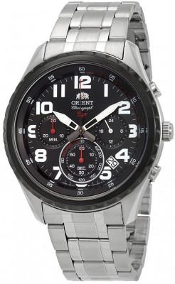 Orient Sporty Chronograph férfi karóra, FKV01001B0, Sportos, Kvarc, Nemesacél