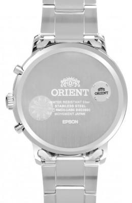 Orient Contemporary Chronograph férfi karóra, RA-KV0302S10B, Klasszikus, Kvarc, Nemesacél
