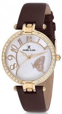 Daniel Klein Premium női karóra, DK12084-3, Divatos, Kvarc, Bőr