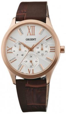Orient Contemporary női karóra, FSW02002W0, Elegáns, Kvarc, Bőr