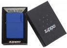 Zippo Royal blue matte öngyújtó, 229ZL