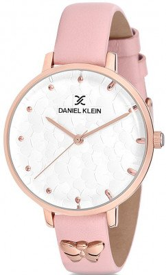 Daniel Klein Premium női karóra, DK12184-4, Divatos, Kvarc, Bőr