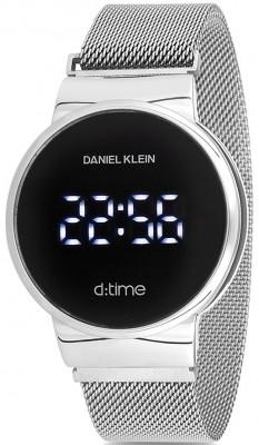 Daniel Klein D:Time unisex karóra, DK12210-1, Divatos, Digitális, Acél