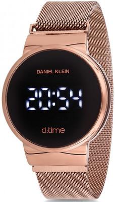 Daniel Klein D:Time unisex karóra, DK12210-2, Divatos, Digitális, Acél