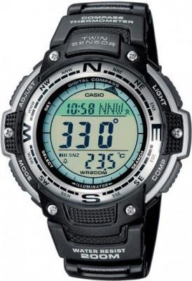 Casio Sport Gear férfi karóra, SGW-100-1VEF, Sportos, Digitális, Műanyag