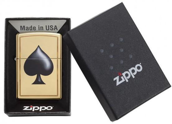 Zippo Spade Pocket öngyújtó, Z29094