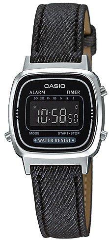 Casio Retro női karóra LA670WL-1B - Óra Világ baf96a1288
