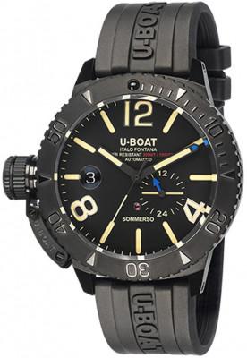 U-Boat Sommerso DLC férfi karóra, U9015, Divatos, Automata, Szilikon