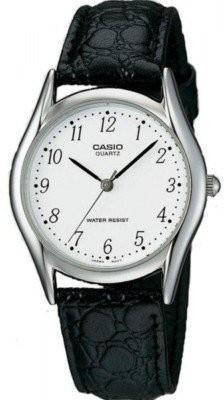 Casio Standard unisex karóra, MTP-1094E-7B, Klasszikus, Kvarc, Bőr
