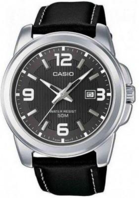 Casio Standard férfi karóra, MTP-1314PL-8AVEF, Elegáns, Kvarc, Bőr