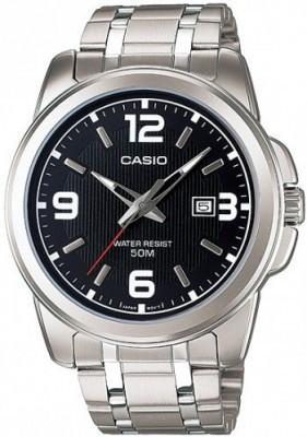Casio Standard férfi karóra, MTP-1314D-1A, Divatos, Kvarc, Nemesacél