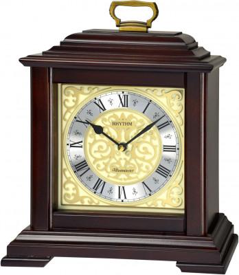 Rhythm asztali-kandalló óra, CRH243NR06, Kvarc