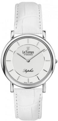 Le Temps Zafira Slim női karóra, LT1085.03BL04, Elegáns, Kvarc, Bőr