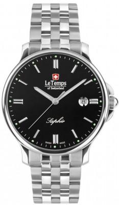 Le Temps Zafira férfi karóra, LT1067.11BS01, Elegáns, Kvarc, Nemesacél