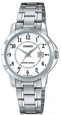 Casio Standard női karóra, LTP-V004D-7B, Klasszikus, Kvarc, Nemesacél