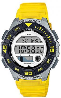 Casio Standard Digi női karóra, LWS-1100H-9AVEF, Sportos, Digitális, Műanyag