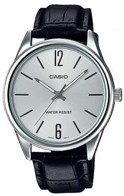 Casio Standard férfi karóra, MTP-V005L-7B, Klasszikus, Kvarc, Bőr