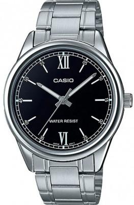 Casio Enticer férfi karóra, MTP-V005D-1B2UDF, Klasszikus, Kvarc, Nemesacél