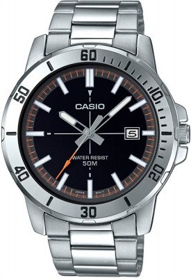 Casio Standard férfi karóra, MTP-VD01D-1E2VUDF, Divatos, Kvarc, Nemesacél
