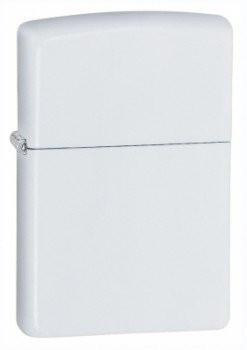 Zippo Regular White Matte öngyújtó, 214